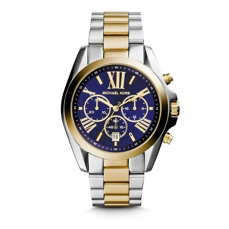 Uhr, Michael Kors, MK5976 Bradshaw Ladies Watch Silver/Gold