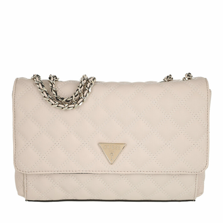 bags, Guess, Cessily Convertible Xbody Flap Stone