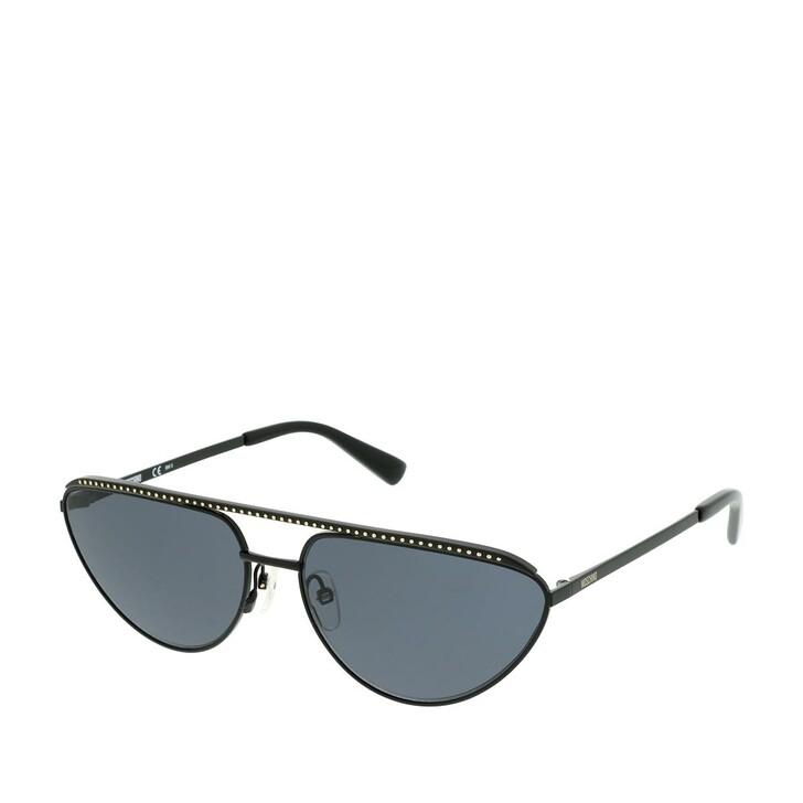Sonnenbrille, Moschino, MOS057/G/S Black
