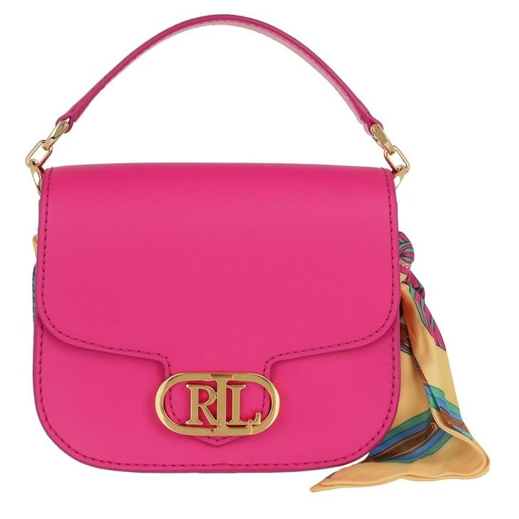 Handtasche, Lauren Ralph Lauren, Addie 19 Crossbody Small Nv Brgt Pk/Eqst Blt Bch Ylw