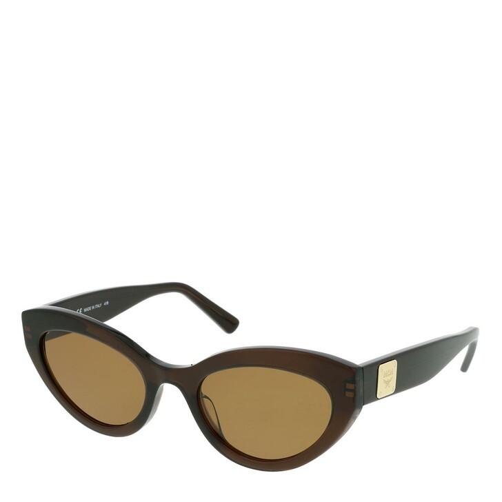 Sonnenbrille, MCM, MCM684S Sunglasses Brown