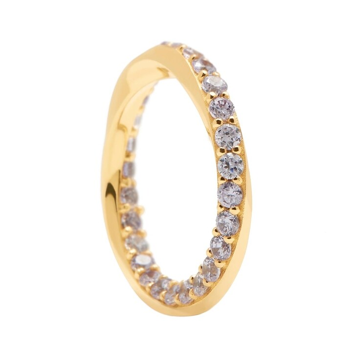 rings, PDPAOLA, Ring CAVALIER Yellow Gold