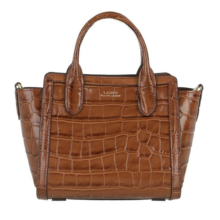 bags, Lauren Ralph Lauren, Tyler 16 Shopper Medium Deep Saddle Tan