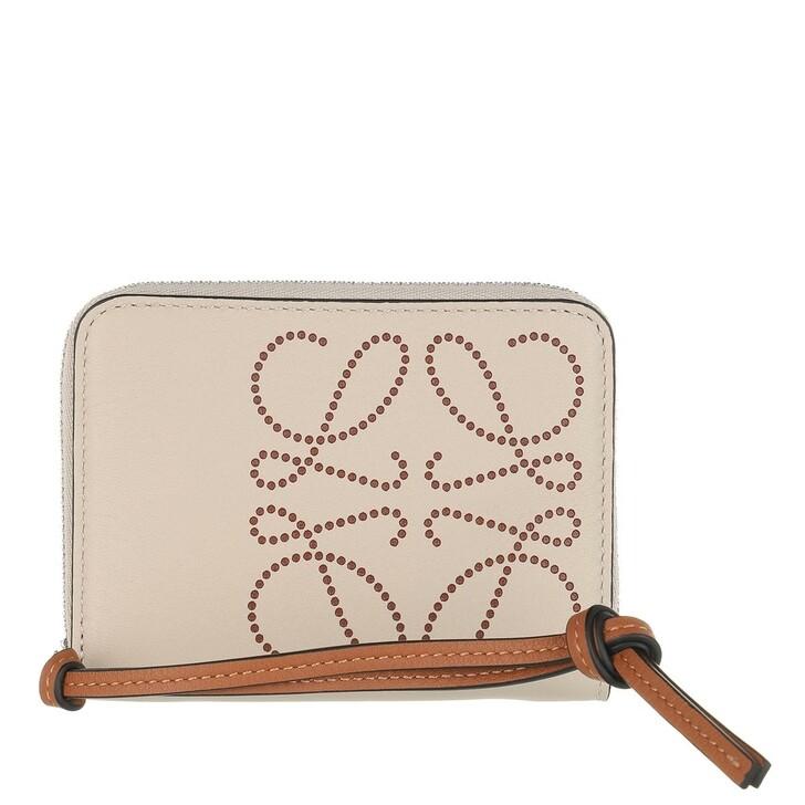 Geldbörse, Loewe, Wallet Leather Light Oat/Tan