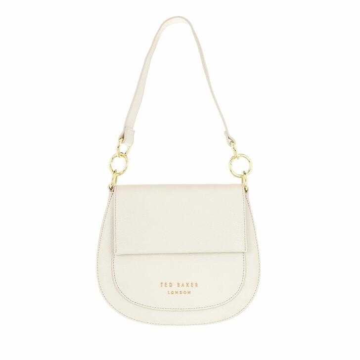 Handtasche, Ted Baker, Amali Branded Webbing Strap Crossbody Ivory
