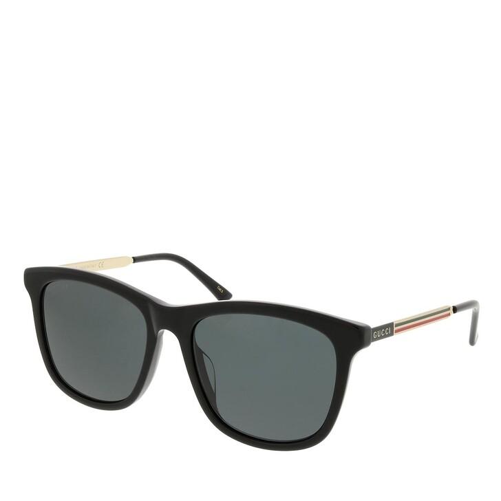 sunglasses, Gucci, GG1037SK-001 55 Sunglass Man Acetate Black-Gold-Grey