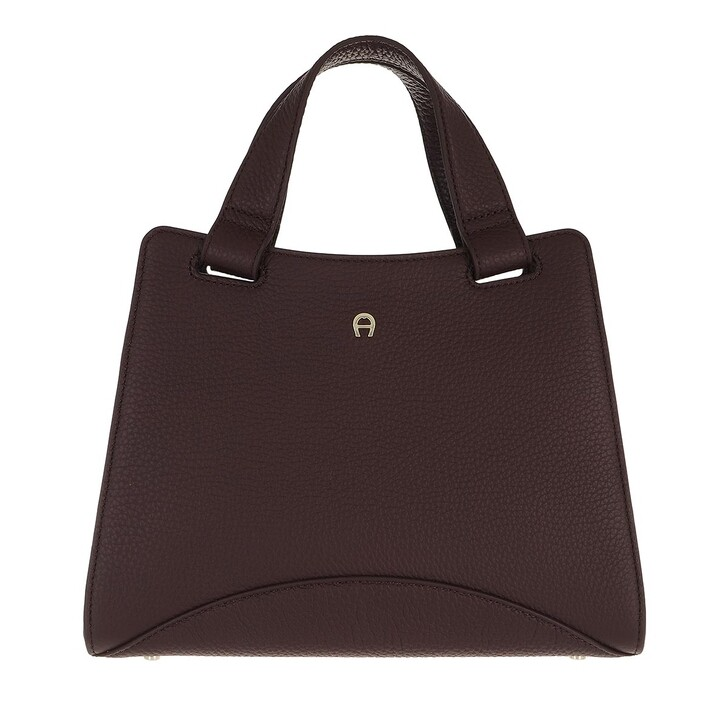 bags, AIGNER, Selma Handbag Espresso Brown
