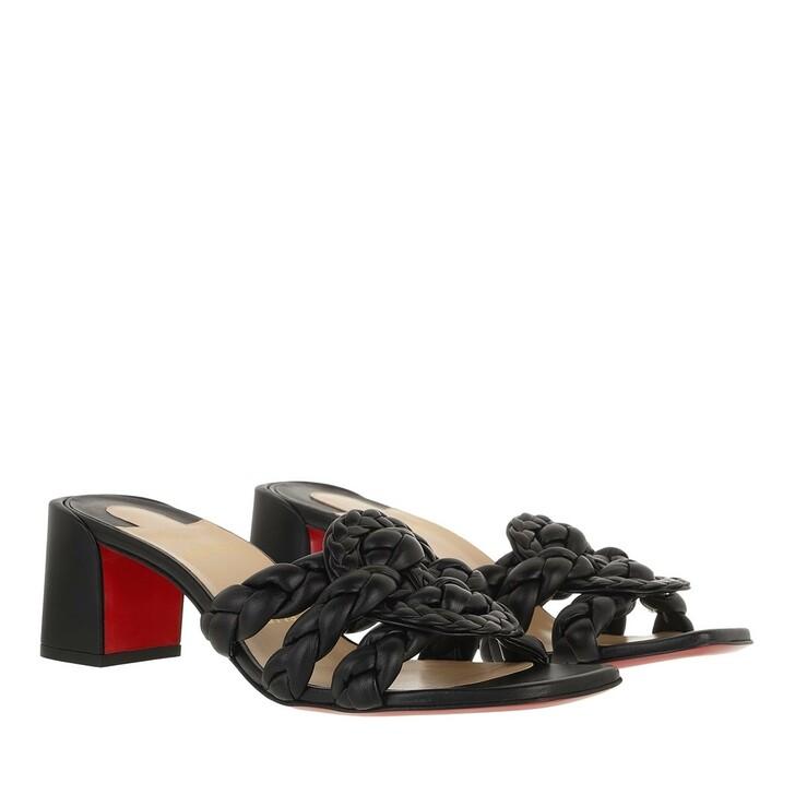 Schuh, Christian Louboutin, Marmela Sandals Black