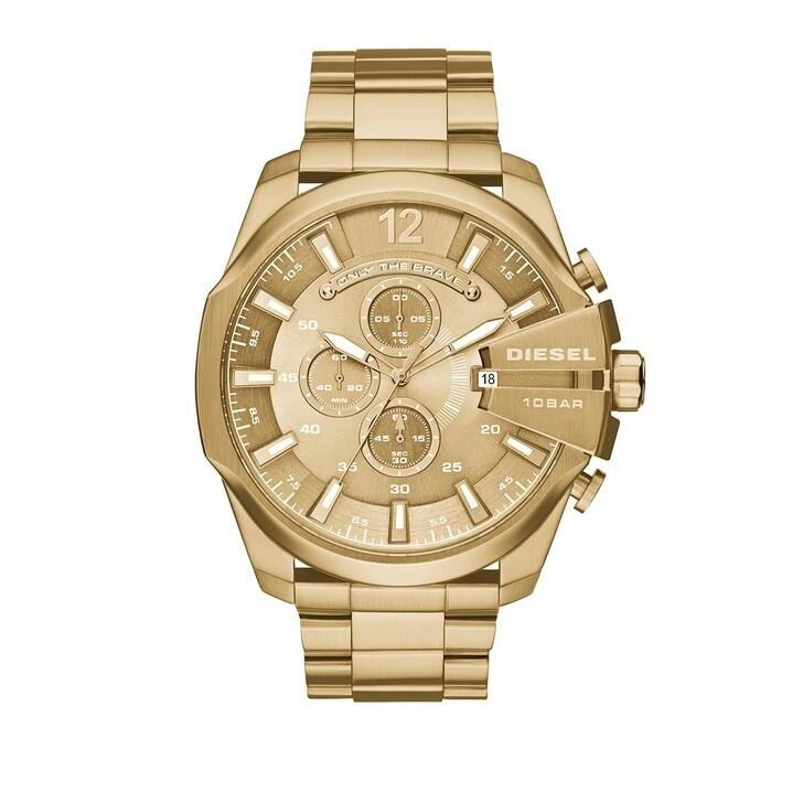 watches, Diesel, Watch Mega Chief DZ4360 Gold