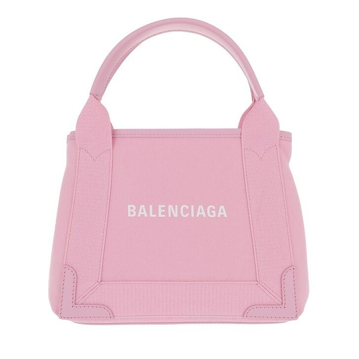 Handtasche, Balenciaga, Borsa Navy Cabas XS AJ Polyamide Rose