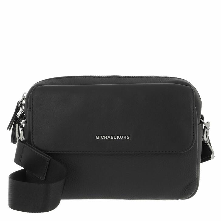 bags, MICHAEL Michael Kors, Utility Xbody Black