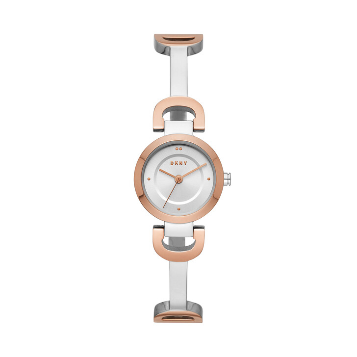 Uhr, DKNY, City Link Watch Ladies Roségold/Silver