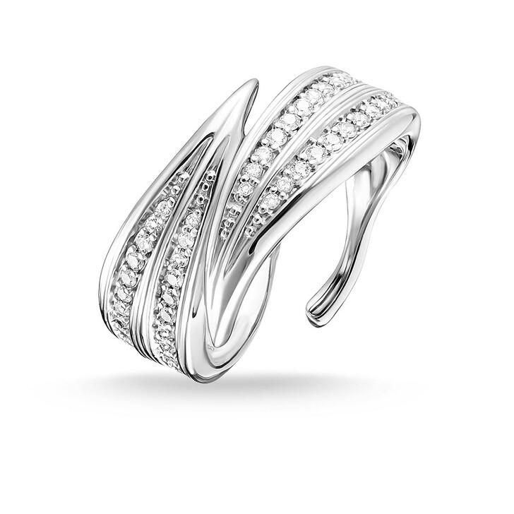 Ring, Thomas Sabo, Ring Leaves Silver