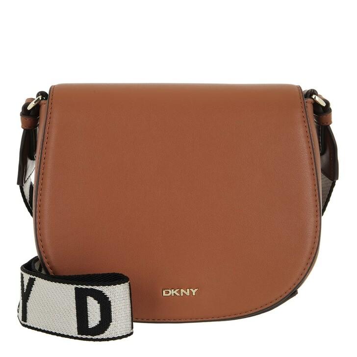bags, DKNY, Winonna Saddle Bag Caramel