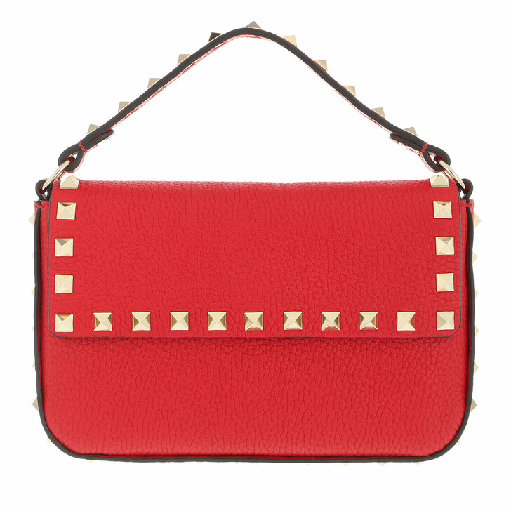 bags, Valentino Garavani, Mini Rockstud Crossbody Bag Red