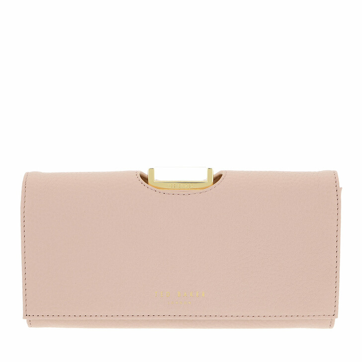 wallets, Ted Baker, Bita Large Bobble Purse Pale Pink