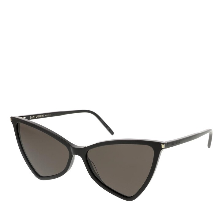 sunglasses, Saint Laurent, SL 475 JERRY-001 58 Sunglass Woman Acetate Black-Black-Black