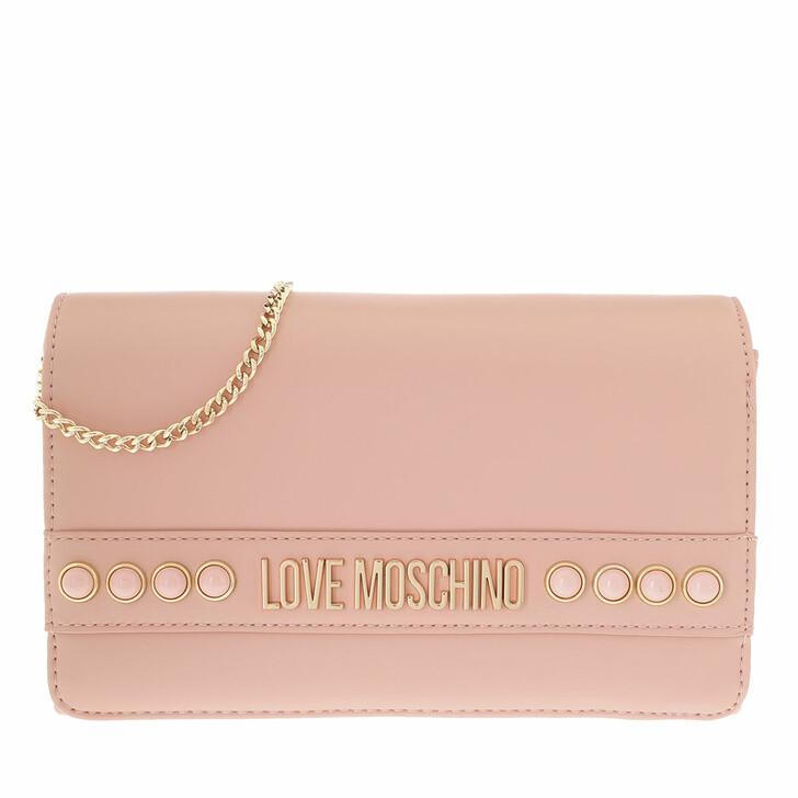 Handtasche, Love Moschino, Borsa Nappa Pu  Rosa