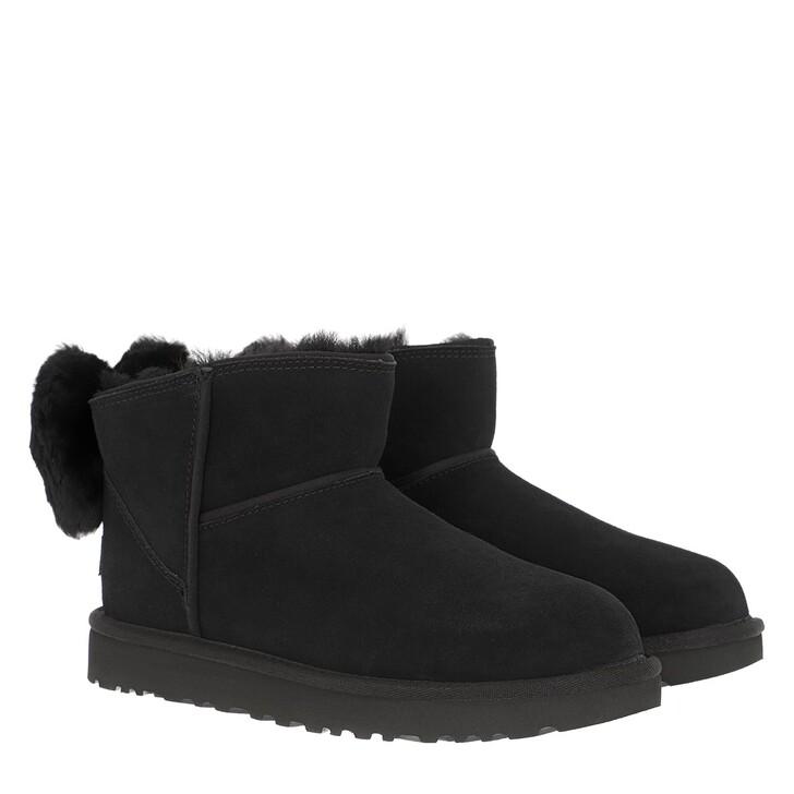 Schuh, UGG, W Classic Mini Bow Black