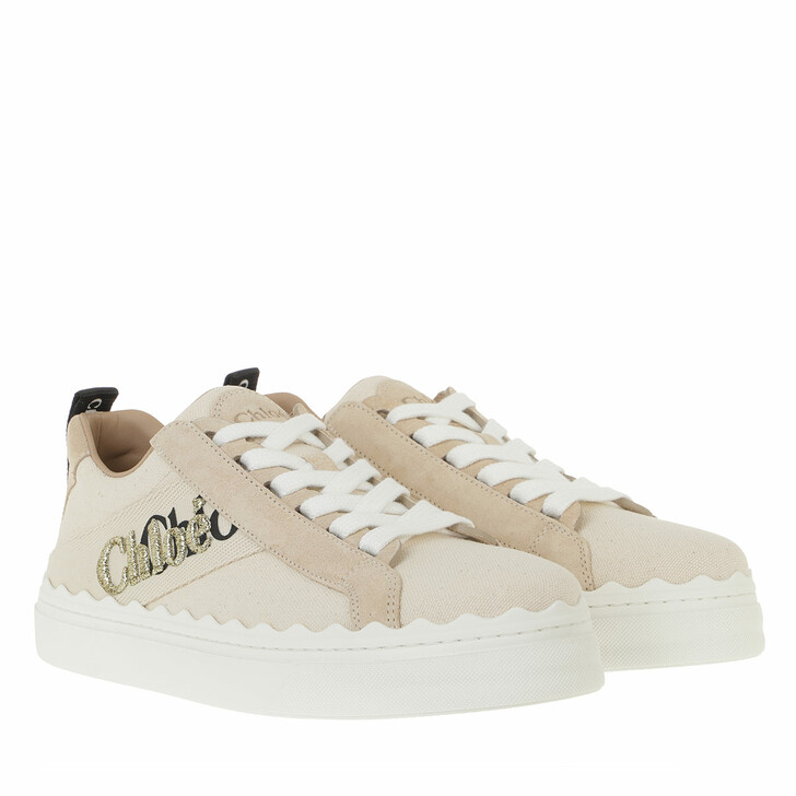 Schuh, Chloé, Logo Sneakers Leather White