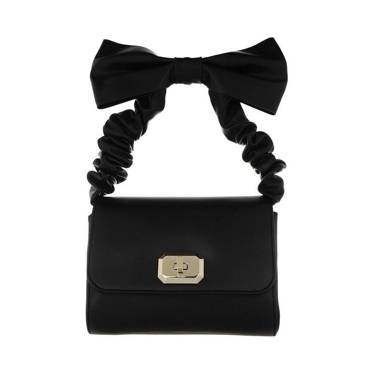 Handtasche, Red Valentino, Top Handle Bag Black