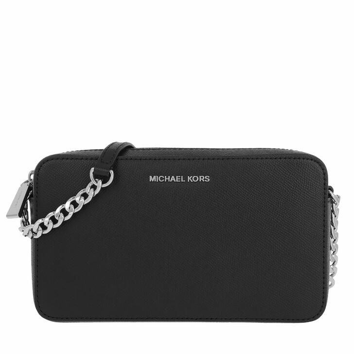bags, MICHAEL Michael Kors, Medium Ew Crossbody Bag Black