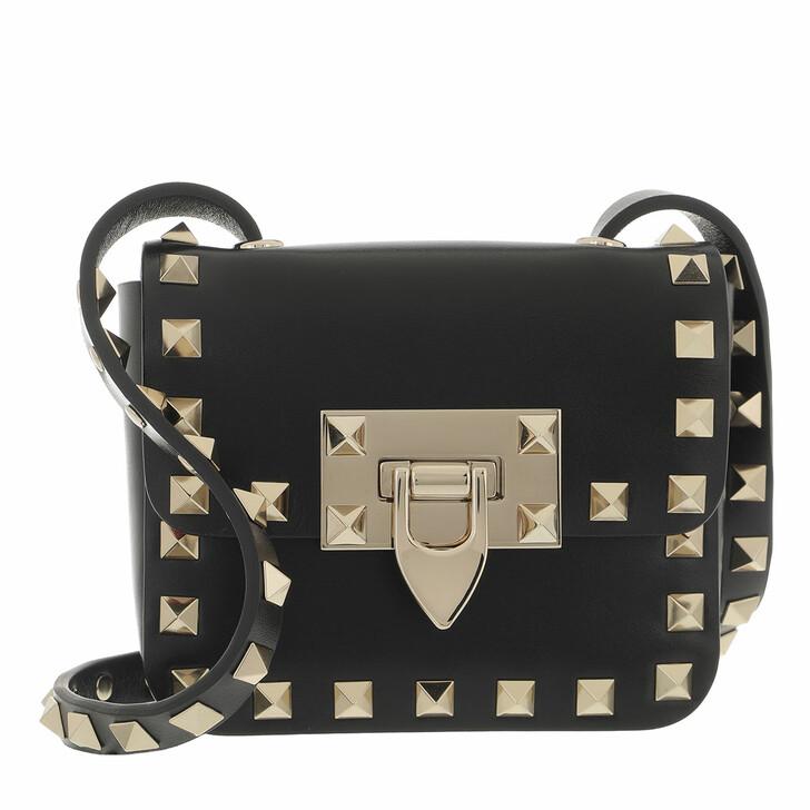 bags, Valentino Garavani, Rockstud Mini Bag Black