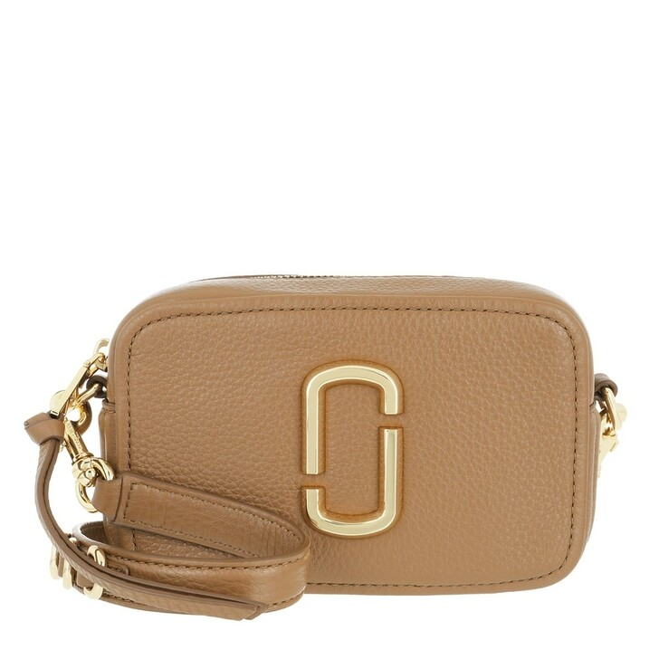 bags, Marc Jacobs, The Soft Shot 17 Crossbody Bag Leather Dirty Chai