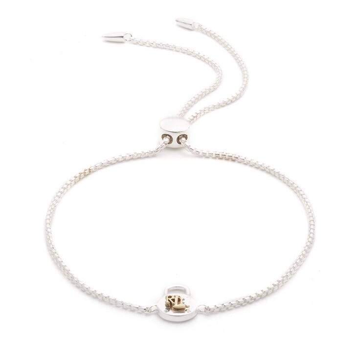 Armreif, Lauren Ralph Lauren, Bracelet PADLOCK SLIDER Silver