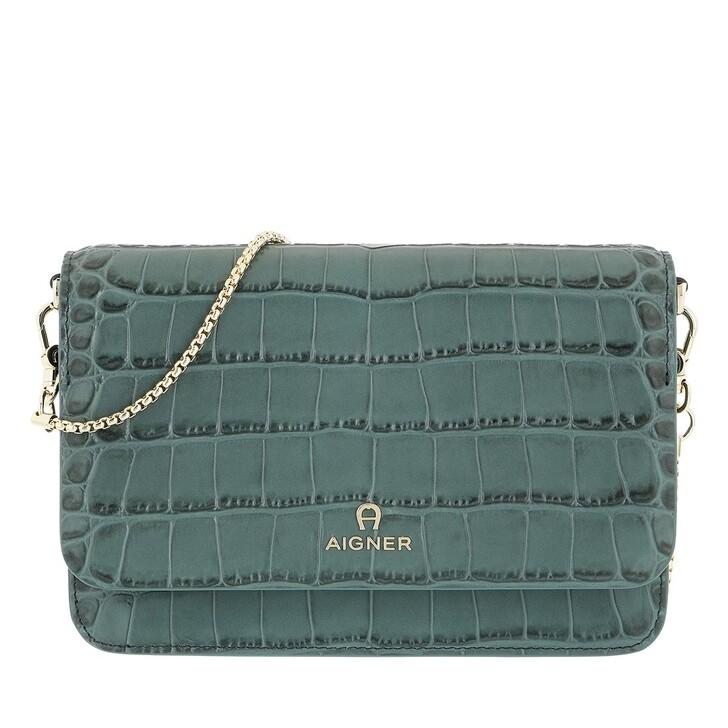 wallets, AIGNER, Fashion Wallet Deep Green
