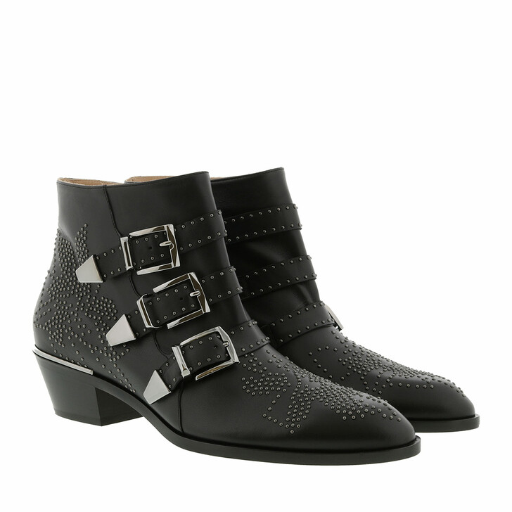 Schuh, Chloé, Susanna Boots Black