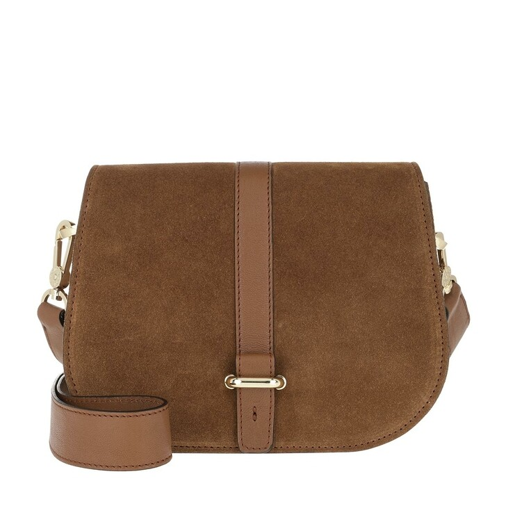 Handtasche, Abro, Crossbody Bag Saga Small Cuoio