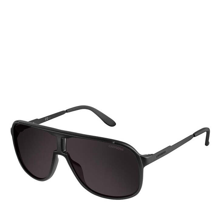 Sonnenbrille, Carrera, NEW SAFARI MATTE BLACK SHINY BLACK