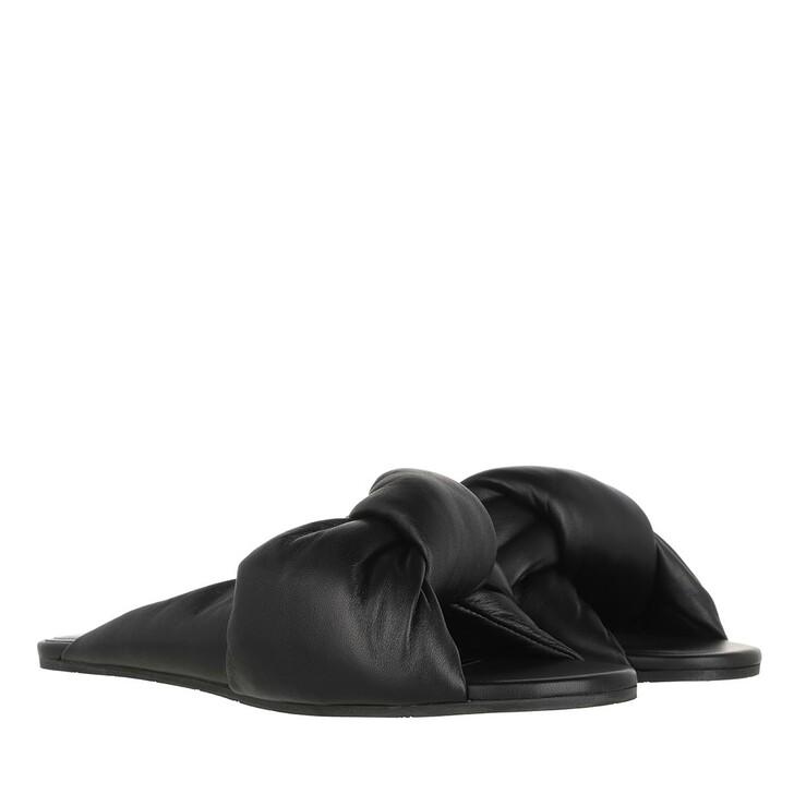Schuh, Balenciaga, Drapy Sandal Black