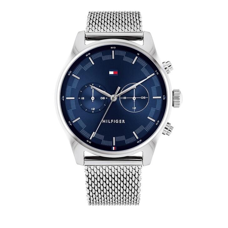 Uhr, Tommy Hilfiger, wrist watch Silver