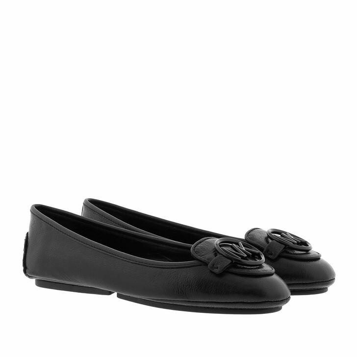 Schuh, MICHAEL Michael Kors, Lillie Moc Flat Black