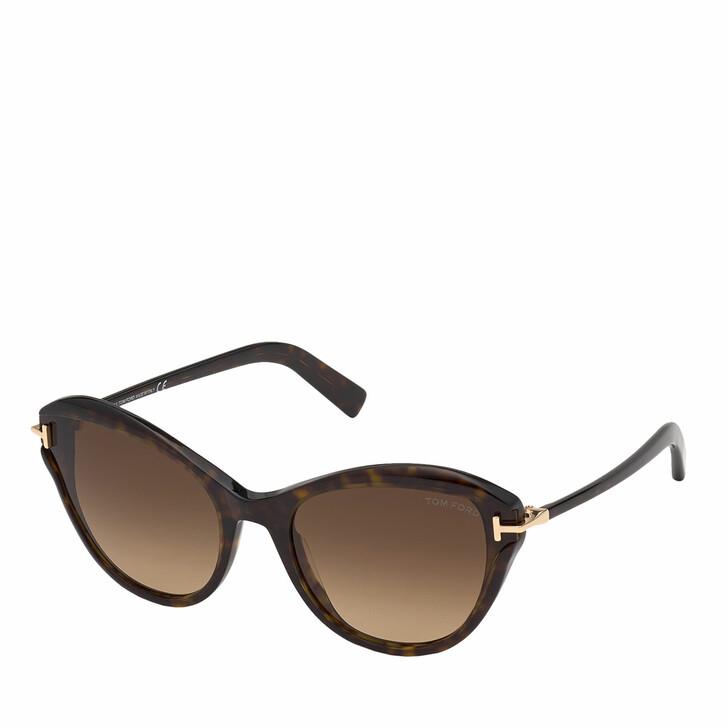 Sonnenbrille, Tom Ford, FT0850 Havanna/Brown
