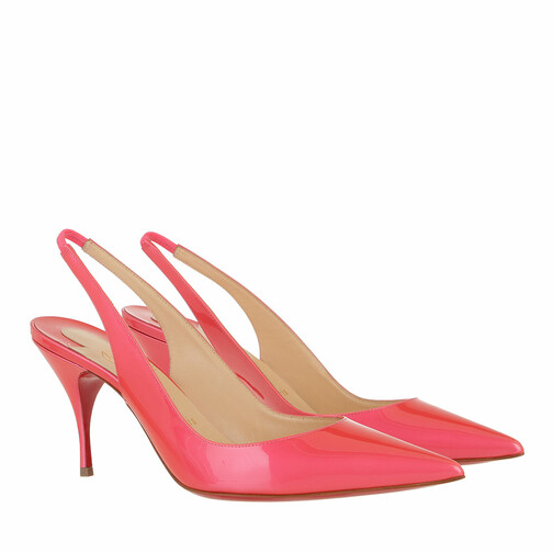 christian louboutin -  Pumps & High Heels - Clare Slingback 80 Pumps - in pink - für Damen
