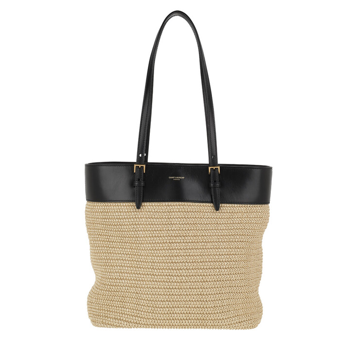 Handtasche, Saint Laurent, Raff Tote bag Natural/Black