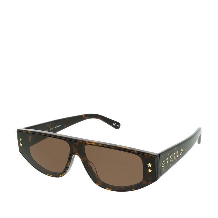 Sonnenbrille, Stella McCartney, SC0238S-002 99 Sunglasses Havana-Havana-Brown