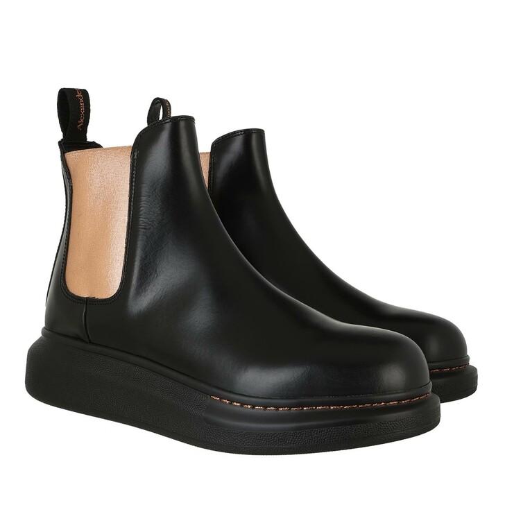shoes, Alexander McQueen, Hybride Chelsea Boot Black Multi
