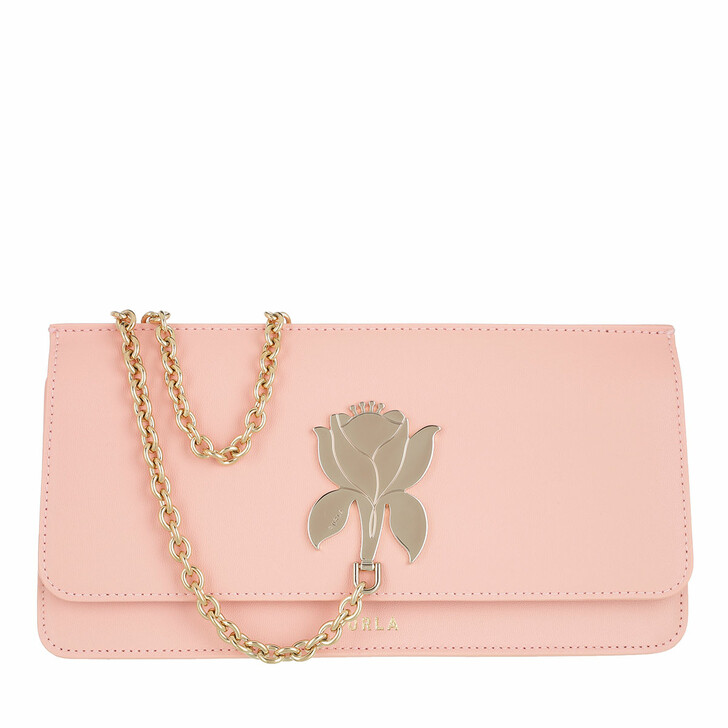 Handtasche, Furla, Furla Tuberosa Mini Clutch Candy Rose