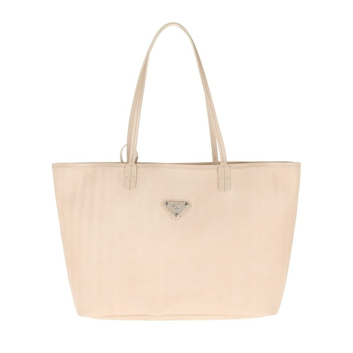 Handtasche, Maison Mollerus, Bern Shopping Bag Pearl/Silver