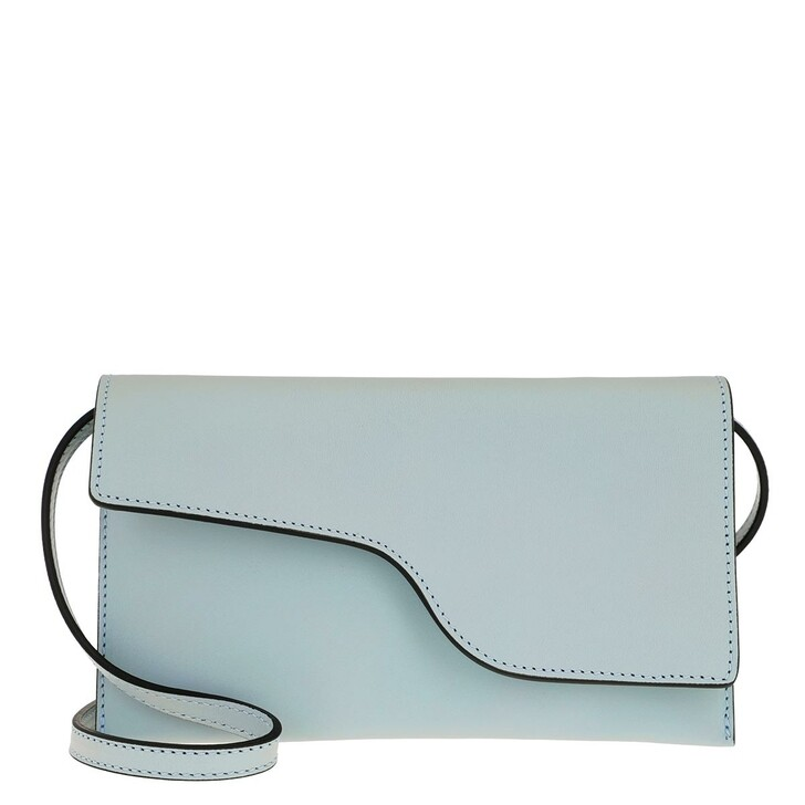 Handtasche, ATP Atelier, Ulignano Clutch Light Blue