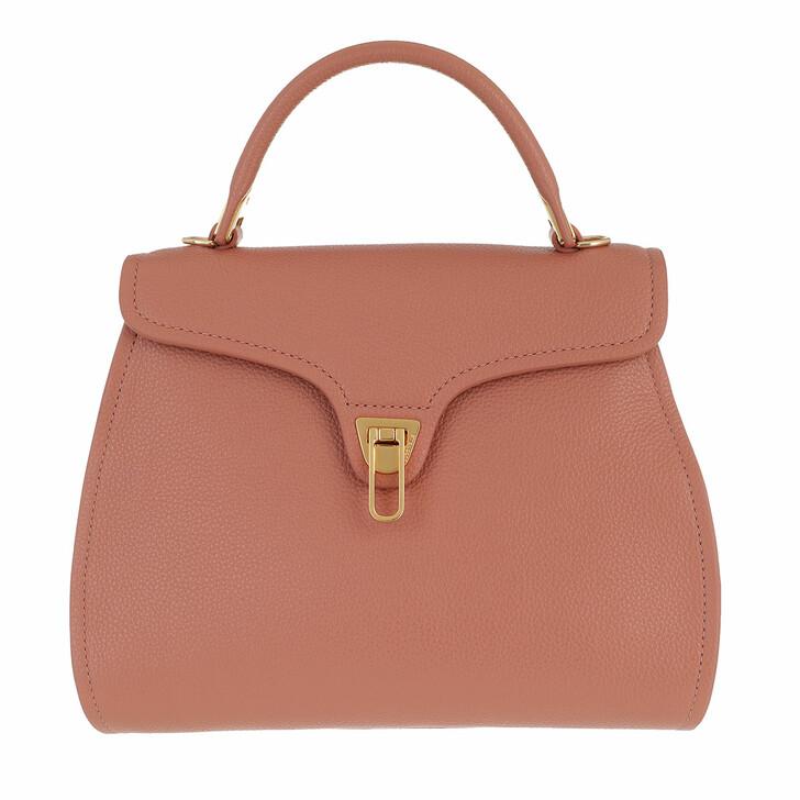 Handtasche, Coccinelle, Marvin Satchel Bag Litchi