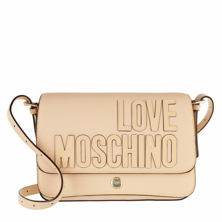 bags, Love Moschino, Borsa Pu  Naturale