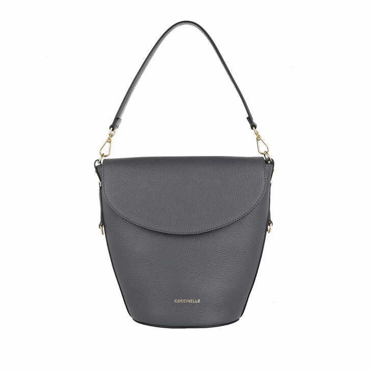 Handtasche, Coccinelle, Diana Handbag Bottalatino Leather Ash Grey