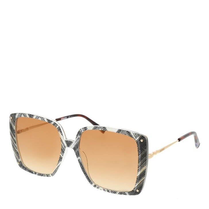 Sonnenbrille, Missoni, MIS 0002/S White Black Pattern