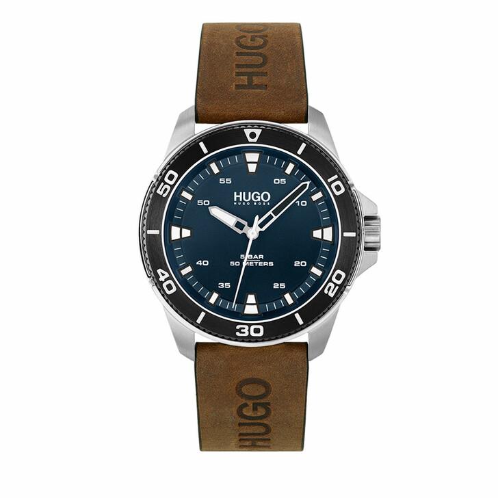 watches, Hugo, Watch Streetdiver Brown