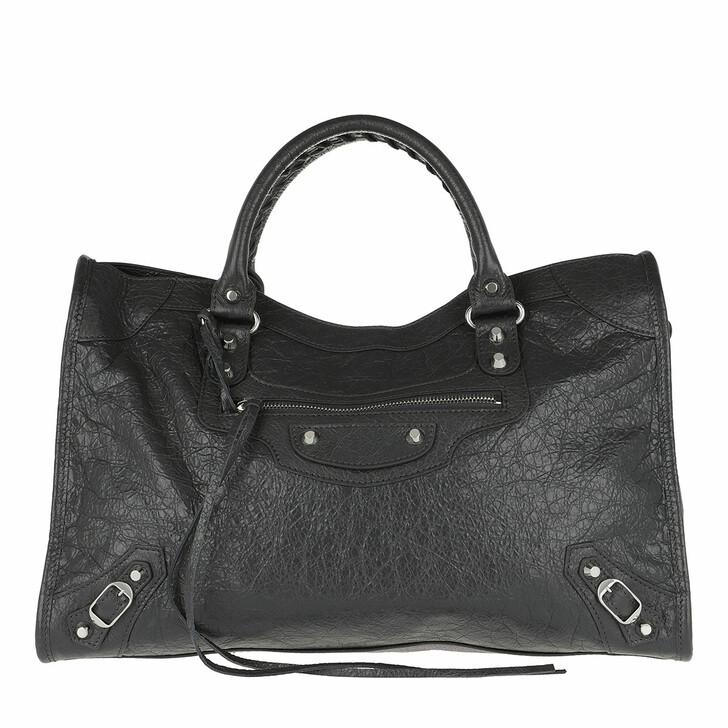 Handtasche, Balenciaga, Classic City Tote M Gris Fossile